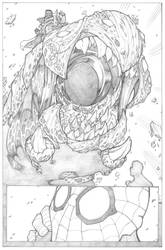 Amazing Spider-Man Page 4 - Pencil