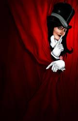 Zatanna's Show by ThomasBlakeArtist
