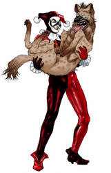 Harley Quinn by ThomasBlakeArtist