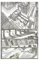 Black Canary's Trial Pencil - Page 1