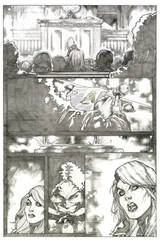 Black Canary's Trial Pencil - Page 2