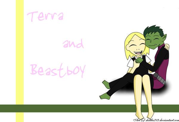 TxBB_Hugs by Beast-Boy-x-Terra