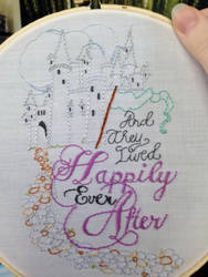 Happily Ever After Embroidery
