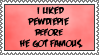 I liked Pewdiepie stamp by DkzCreative