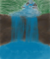 Waterfall by xlilDark