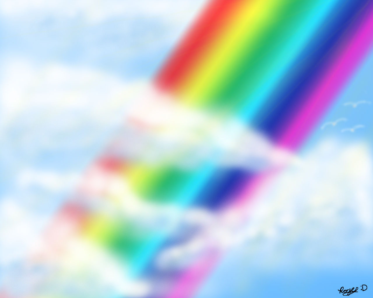 Image Result For Clouds And Rainbows