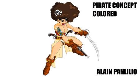 sexy pirate by AlainPanlilio