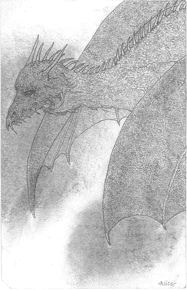 Dragon sketch by aicless