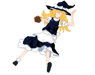 WIP: Marisa Spark Day 2... by Blind-Itachi