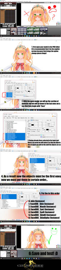 Custom Maid 3D 2 to MMD Tutorial by YelenBrownRaccoon on DeviantArt