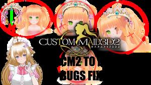 Custom Maid 3D 2 to MMD Tutorial by YelenBrownRaccoon on DeviantArt
