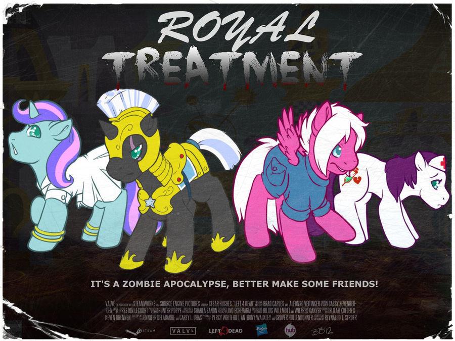 Royal Treatment Poster - Left 4 Dead Style