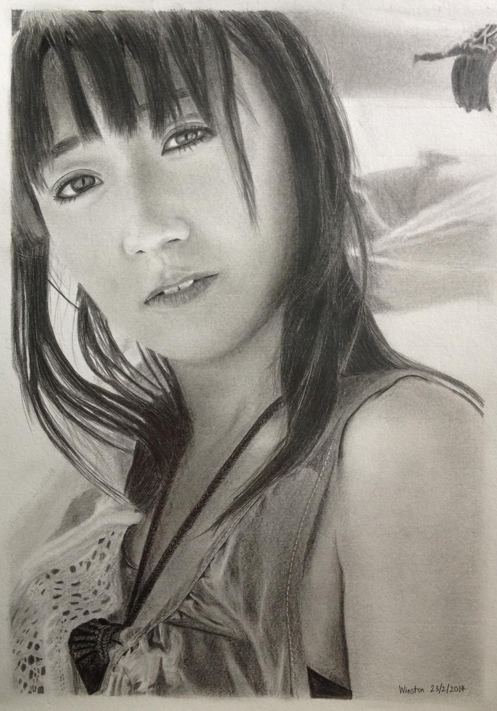 Yuko Oshima (13 - 23 February 2014) by WinstonSGC