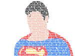 Superman typography