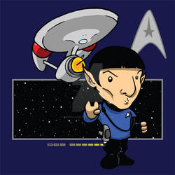 Star Trek: Spock by Sideways8Studios