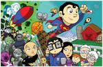 Superman Family Chibi