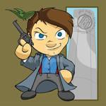 Torchwood - Chibi Captain Jack Harkness