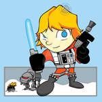 Star Wars - Luke in X-Wing Suit Chibi