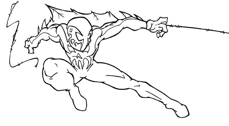 spider man 2099 coloring pages spiderman 2099 free coloring pages