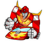 Transformers: Hot Rod: Color