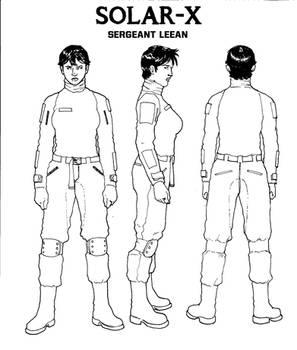SERGEANT LEEAN INK