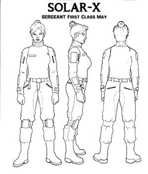 SERGEANT FIRST CLASS MAY INK