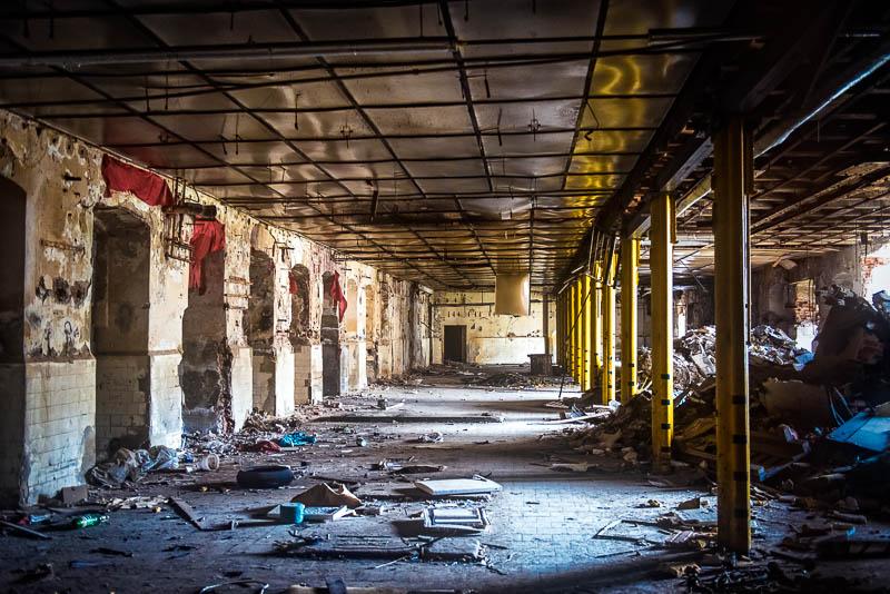 Former textile factory by KarelSopek