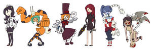 Skullgirls Characters 1