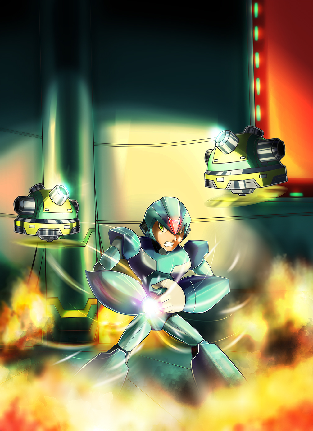 Ready, Megaman X by LucasOAK