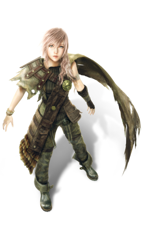 Lightning in Shadows Dust suit (LR : FF XIII) by DJoeliantofarron