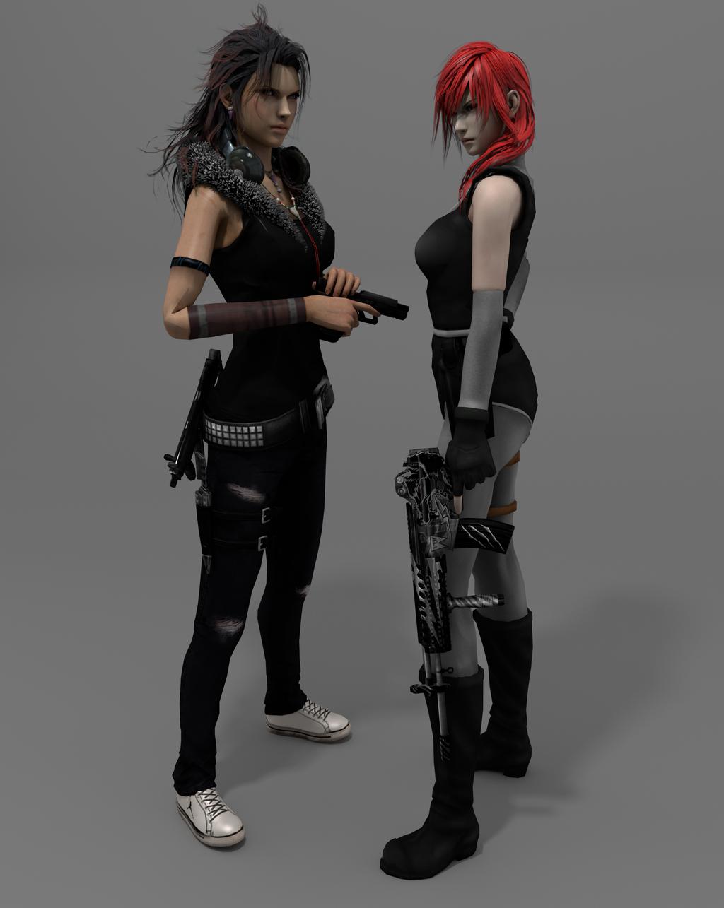 The Mercenaries (Cycles Test) by DJoeliantofarron