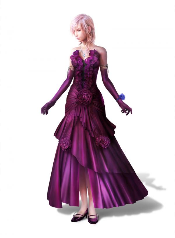 Purple Moon for Lightning (LR : FFXIII) by DJoeliantofarron on ...