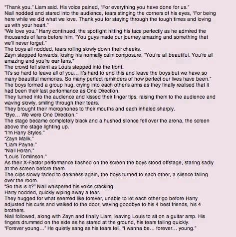 One Direction - Chapter 34 - The Journey part 2 - Page 1 - Wattpad