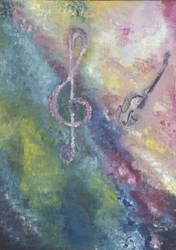 Violino e la sua chiave