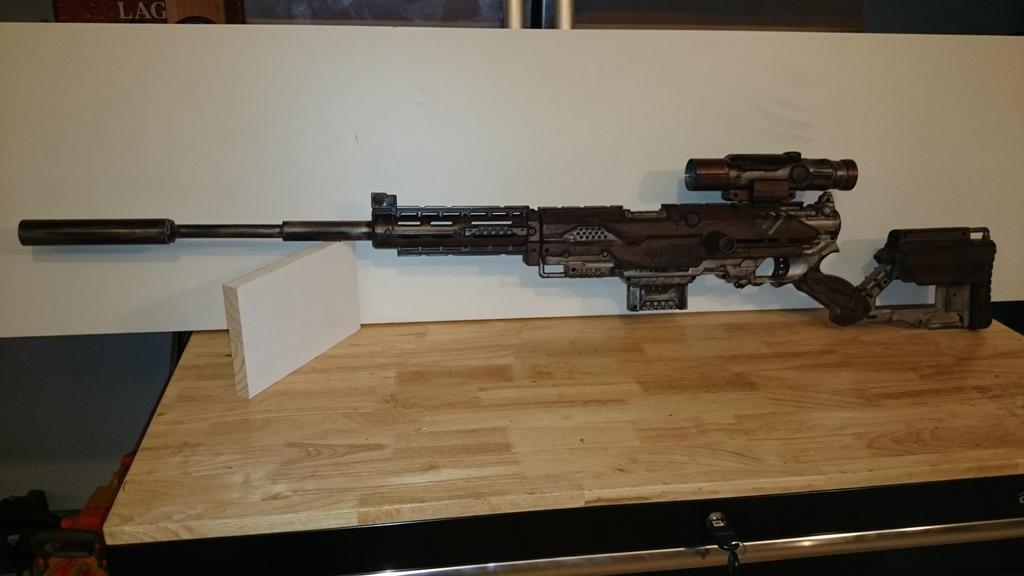 Nerf Sniper Mod By Althegeek On Deviantart