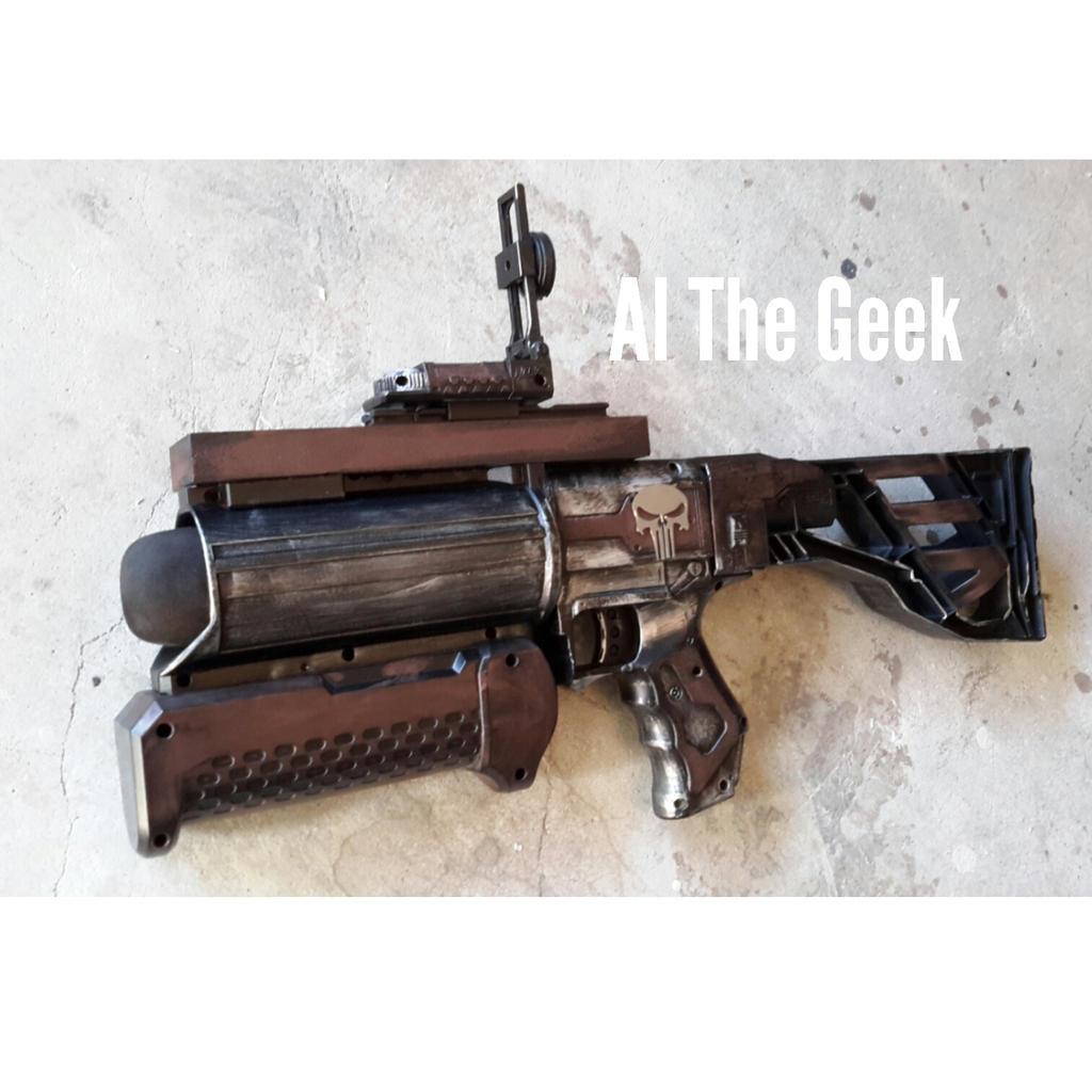 Nerf grenade launcher by AlTheGeek on DeviantArt