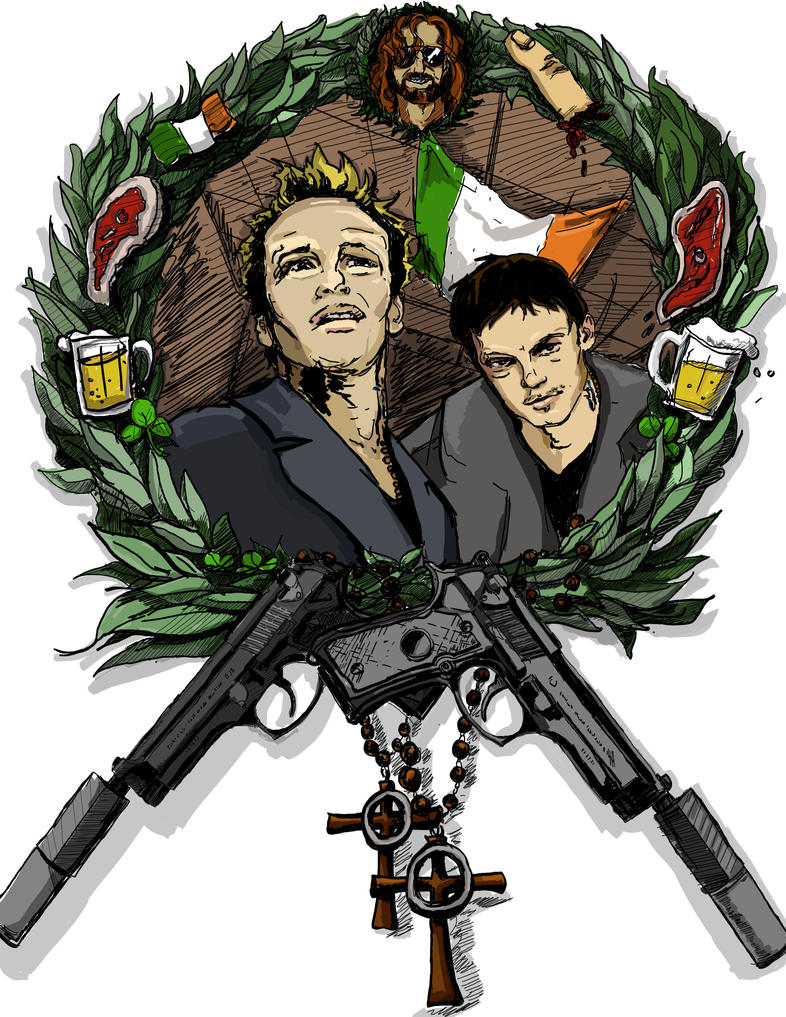 The Boondock Saints by morganmcardle