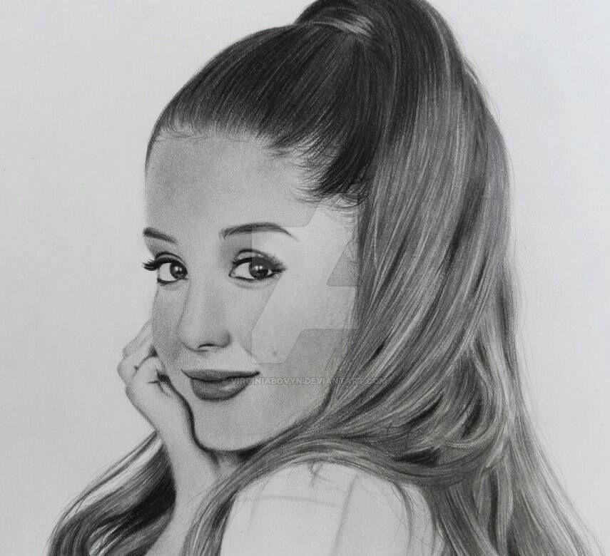 Ariana Grande by VirginiaBovyn