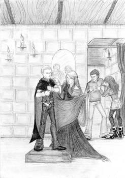 HP - Madam Malkin's robe shop