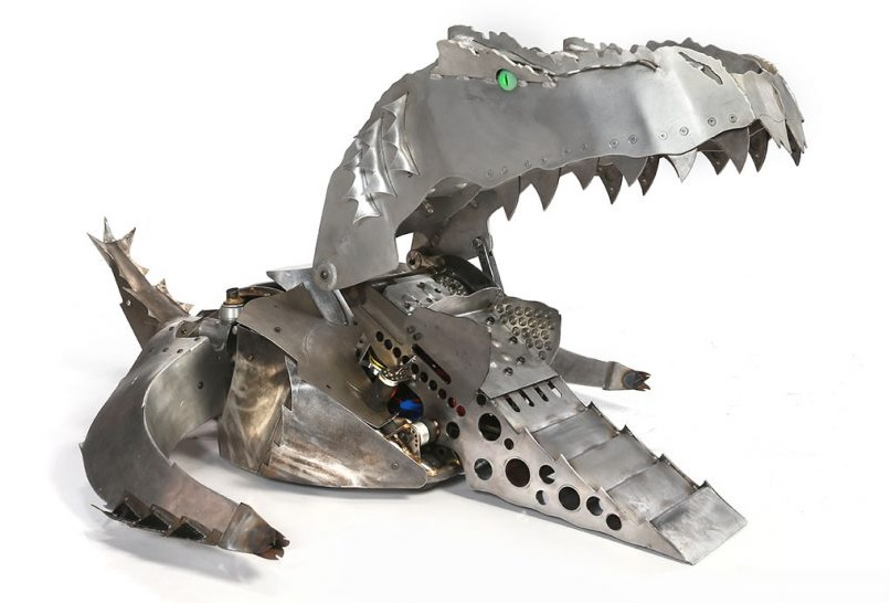 Battlebots-ABC season 2 Warhead. by sgtjack2016