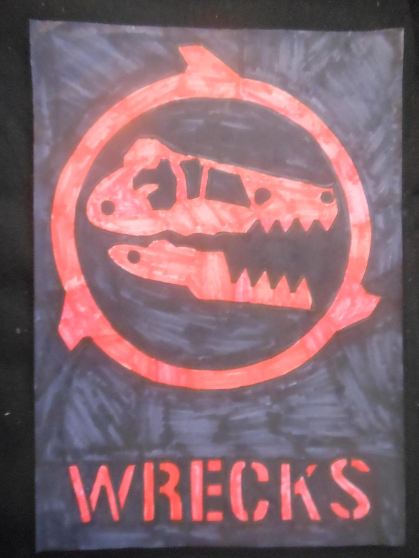 Battlebots ABC season 1 Team Wrecks logo. by sgtjack2016