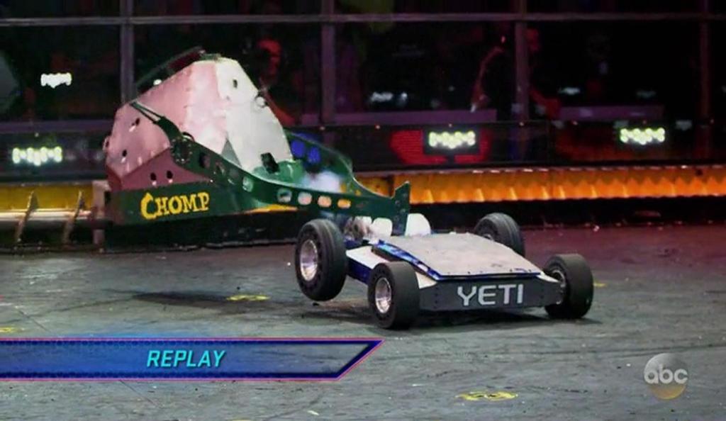 Quarterfinals: CHOMP vs YETI. by sgtjack2016