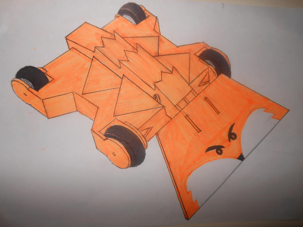 Foxic MK3 with anti vertical weapon front by sgtjack2016