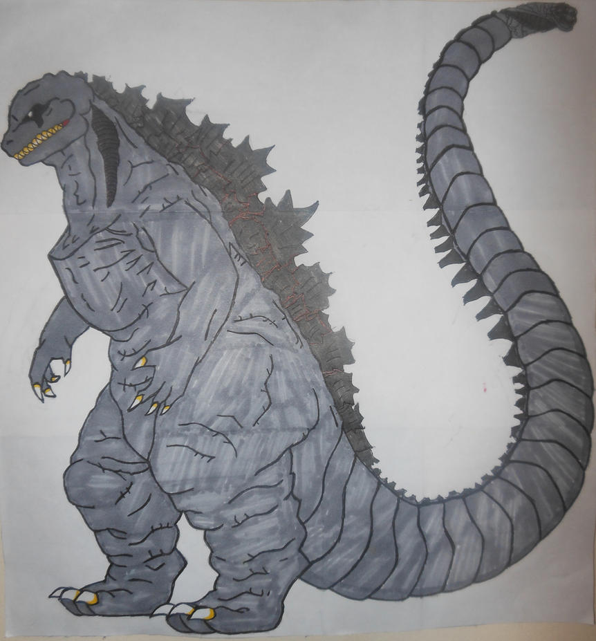 Shin-Godzilla Anime style by sgtjack2016