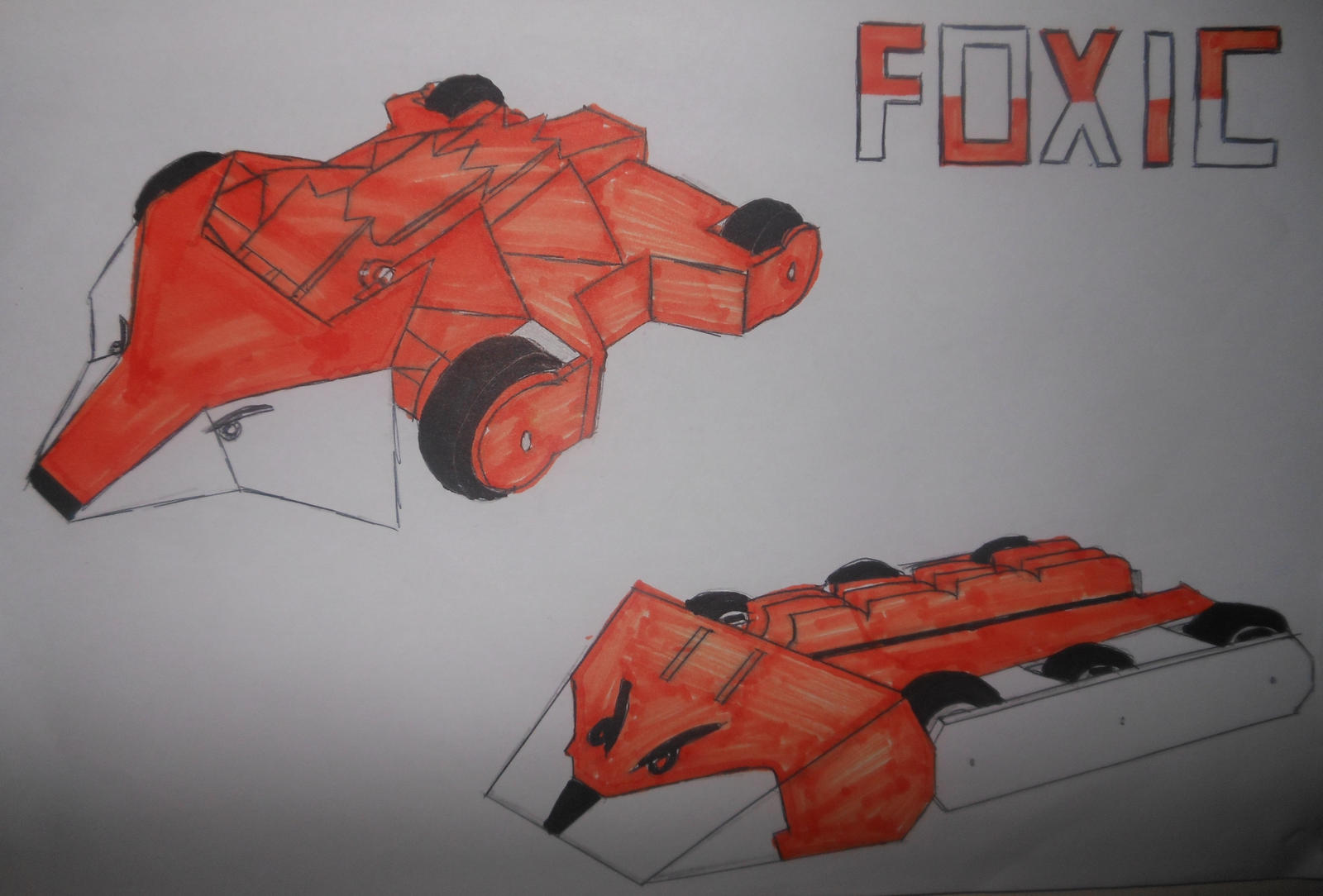 Robot Wars Foxic poster by sgtjack2016