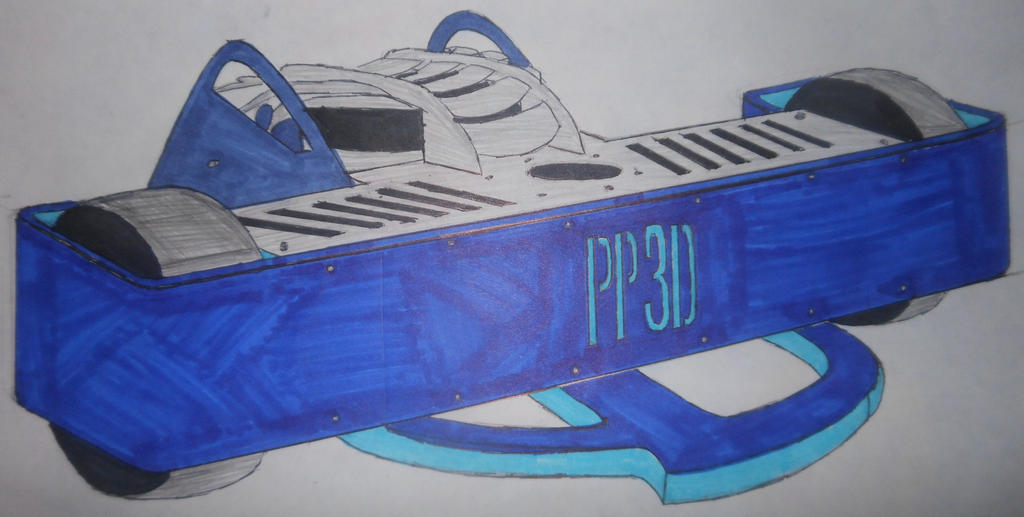 Robot Wars custom series: PP3D by sgtjack2016