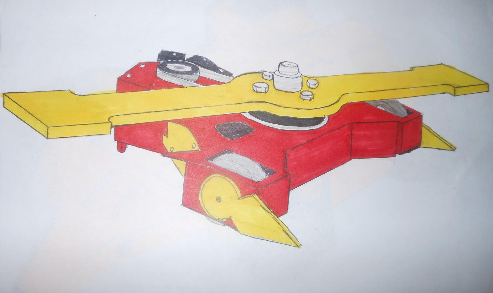 Robot Wars Series 9 Apex by sgtjack2016