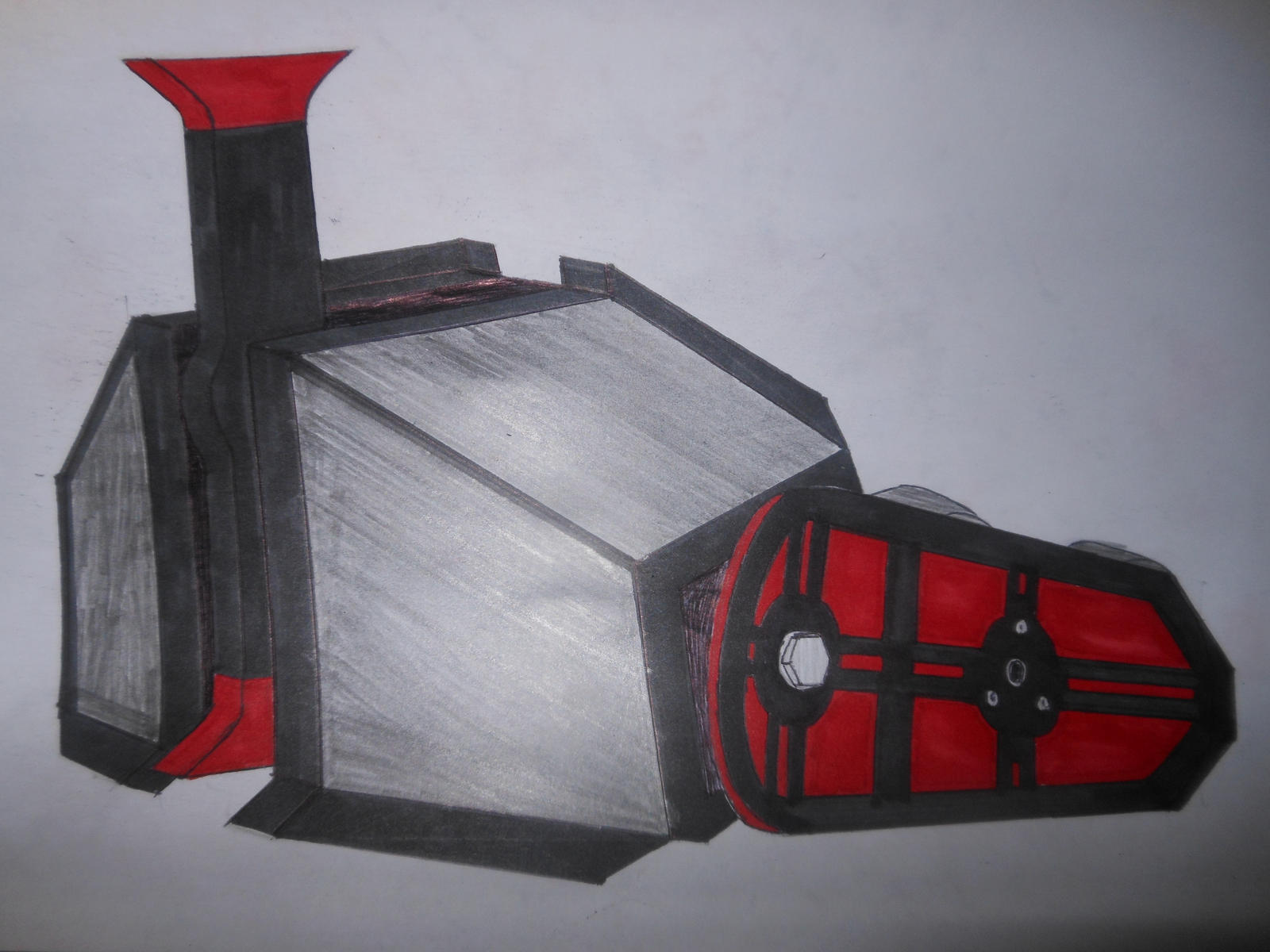 Robot Wars custom series: Tauron by sgtjack2016