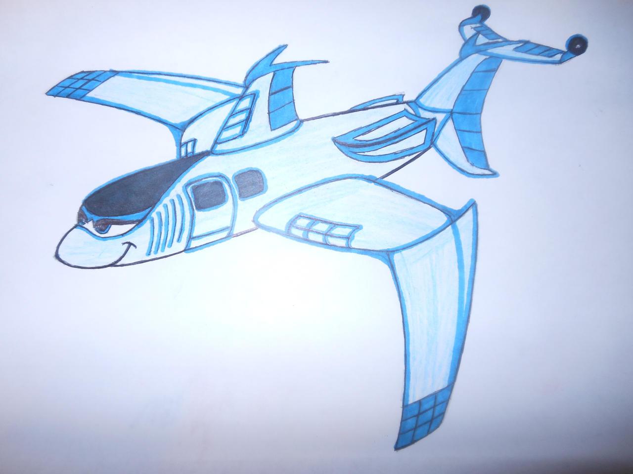 Shark Plane 2.0 AKA Salley by sgtjack2016