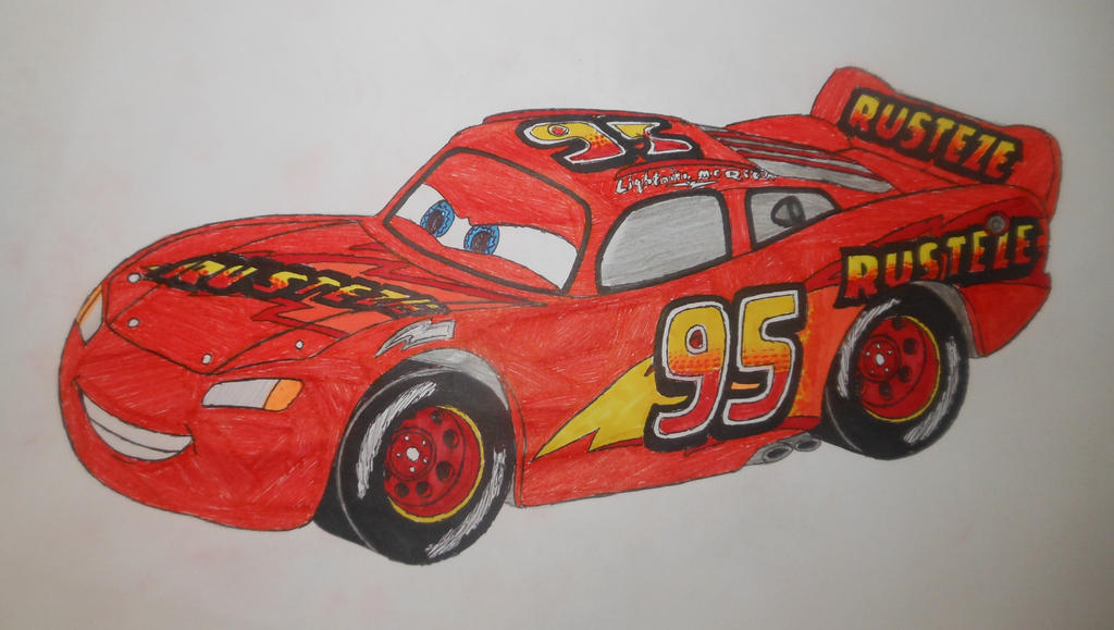 Cars 3 RUST-EZE Lightning Mcqueen by sgtjack2016